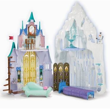 Disney Frozen 2-in-1 Castle Playset