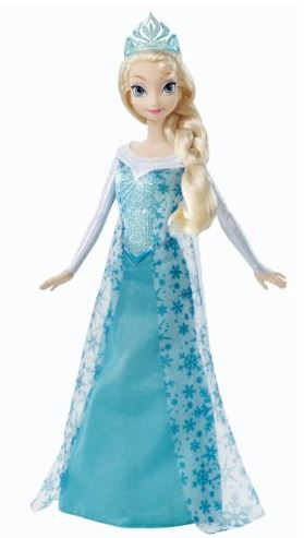 Disney Frozen Sparkle Princess Elsa Doll
