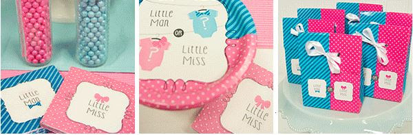 Gender Reveal Baby Shower Idea: Bow Or Bow Tie Reveal Party   Parties365