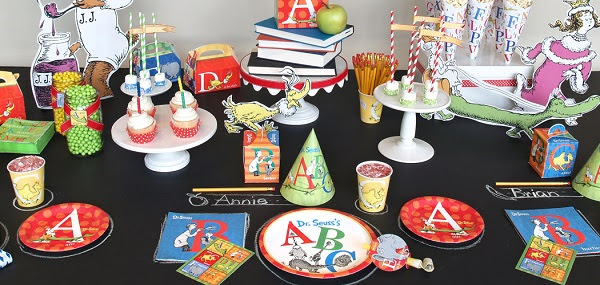 Dr. Seuss ABC Birthday Party Theme Ideas