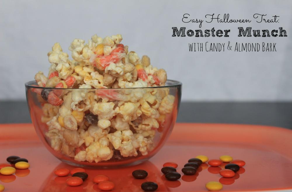 Easy Halloween Treat: Monster Munch