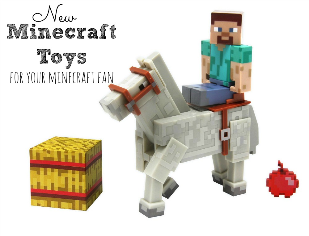 New Minecraft Toys for Your Minecraft Fan