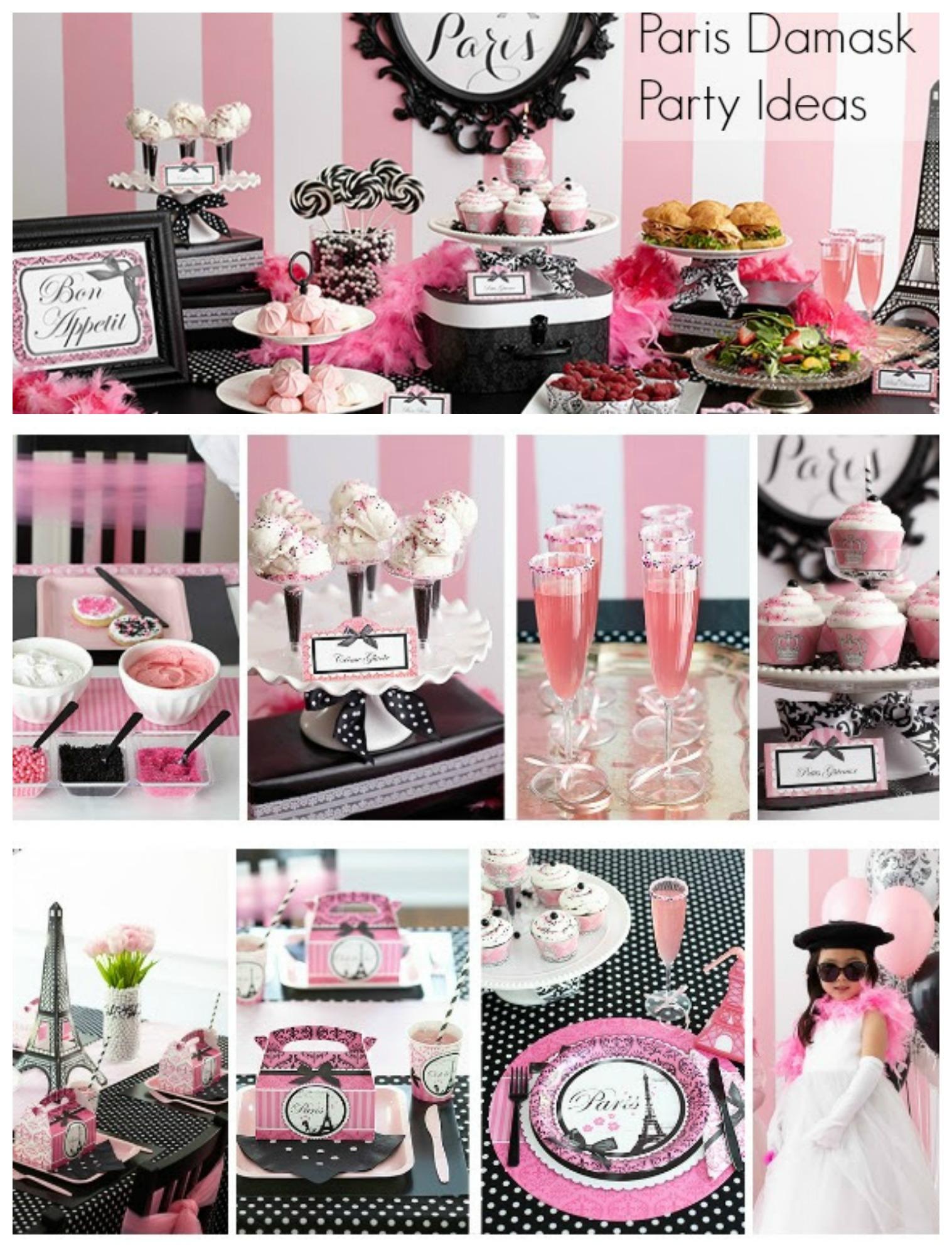 pics photos paris birthday party