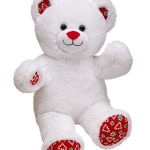 Peppermint Kisses Bear Build a Bear
