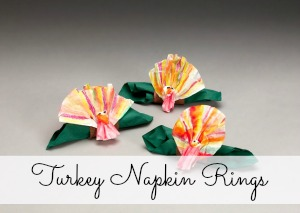 Turkey Napkin Rings