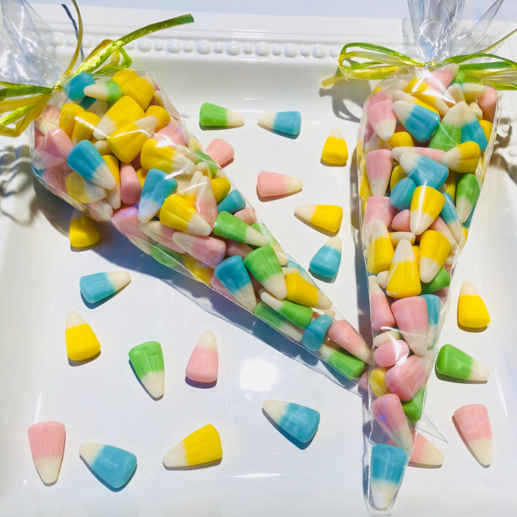 Candy Corn Easter Basket stuffers