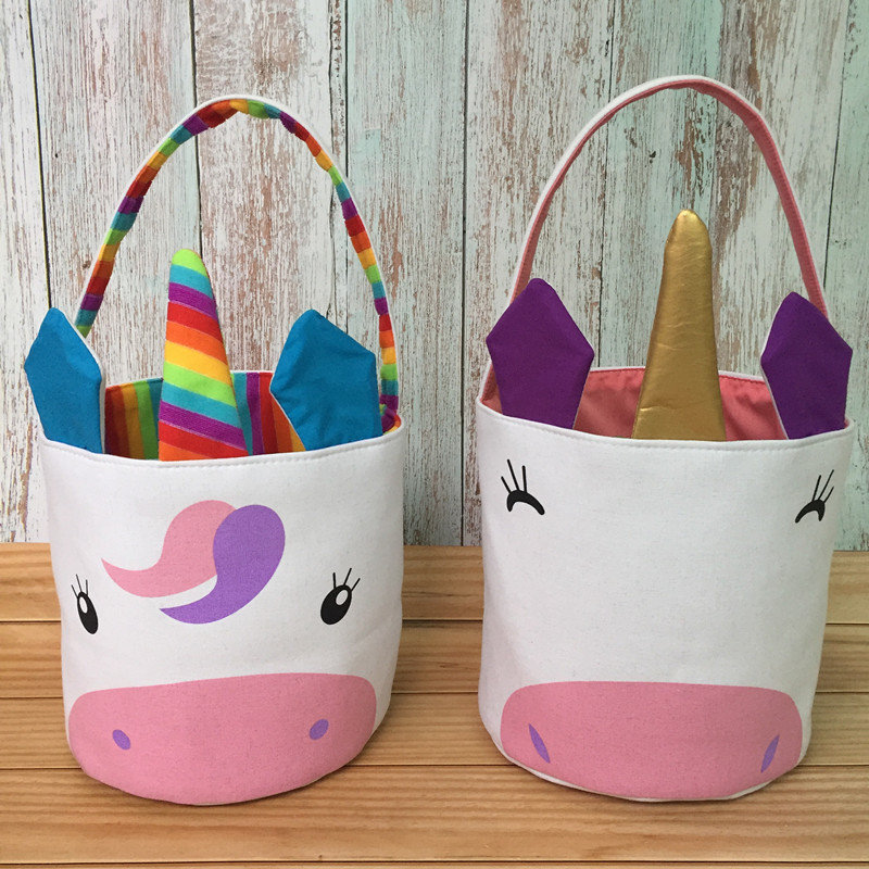 Unicorn Easter Baskets