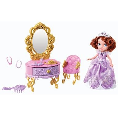 Disney Sofia The First Ready for The Ball Royal Vanity