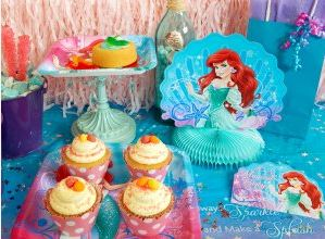 Disney The Little Mermaid Sparkle Party Packs 01