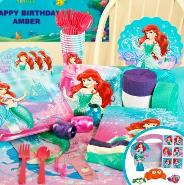 Disney The Little Mermaid Sparkle Party Packs 03