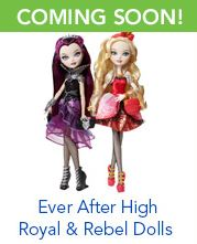 Ever After High Royal and Rebel Dolls