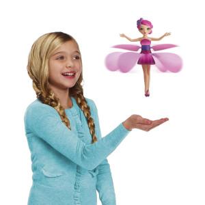 Flutterbye Flying Fairy Doll - Pink Flower