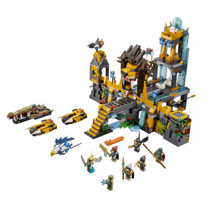 LEGO Legends of Chima The Lion CHI Temple (70010)