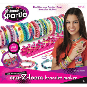 Shimmer n Sparkle Cra-Z-Loom Bracelet Maker