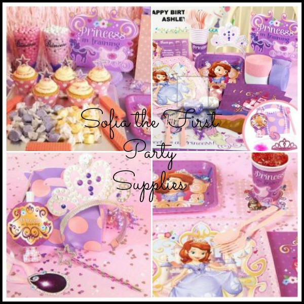 Sofia the First Party Supplies