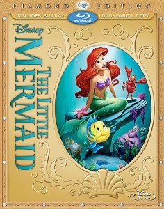 The Little mermaid Diamond Edition Blu ray Combo Pack 01