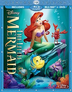 The Little mermaid Diamond Edition Blu ray Combo Pack 02