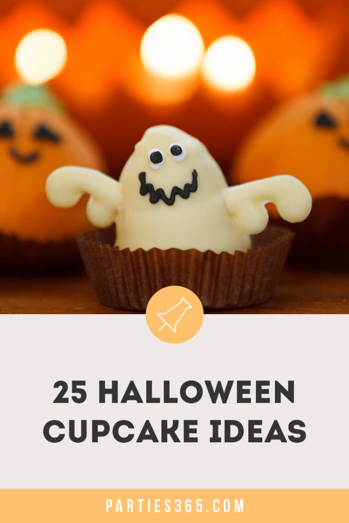 Searching for inspiration for a spooktacular Halloween cupcake? We've found 25 of the best Spooky Cupcakes ideas for your Halloween party that are sure to treats your kids love! #Halloween #Cupcakes