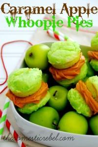 Caramel Apple Whoopie Pie
