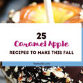 """What says """"fall"""" more than caramel apples? Yum! We're rounded up some of the best caramel apple recipes that are perfect for your next fall party or Halloween party! 