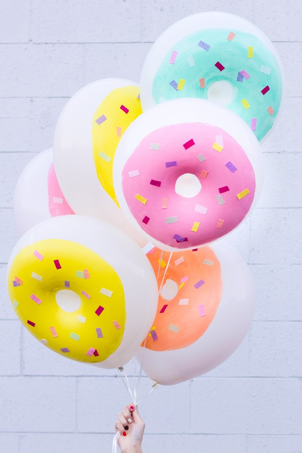 How to make donut balloons
