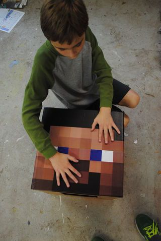 DIY Minecraft Costumes 01