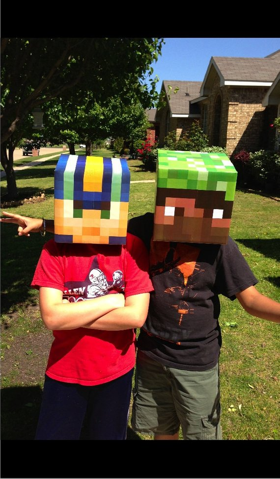 DIY Minecraft Costume