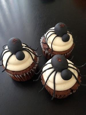 spider Halloween Cupcake idea