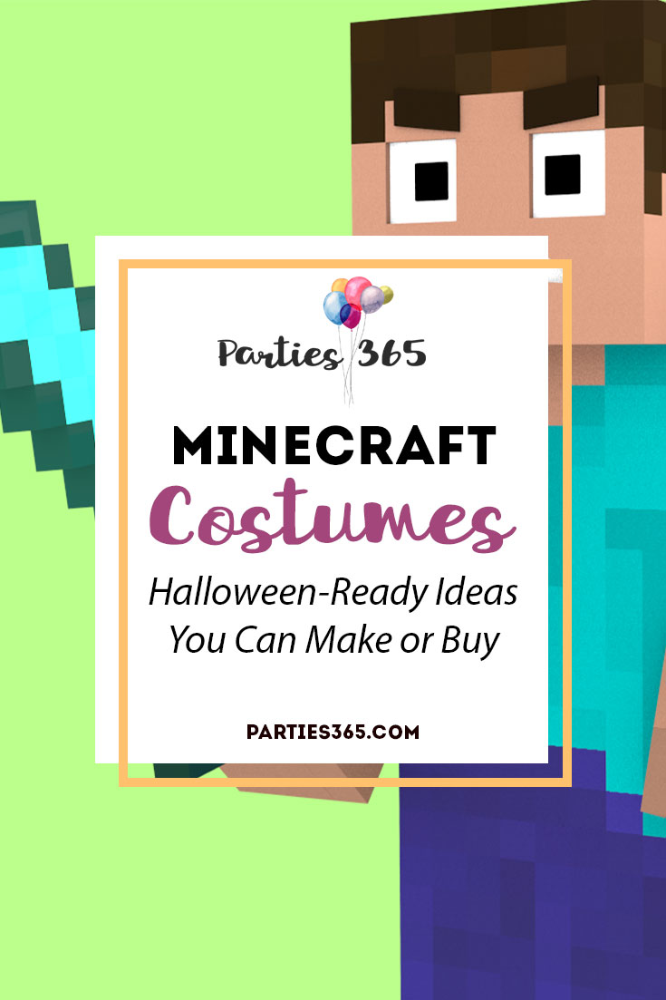 Whether you want to DIY a Minecraft Costume or purchase one for Halloween, we have several options that will make you and your kiddo happy! | Minecraft Costumes for Boys | Minecraft Costume DIY | Minecraft Costume Enderman