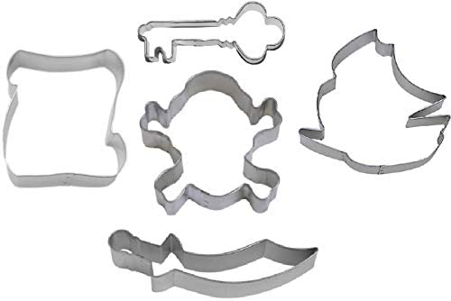pirate cookie cutter set