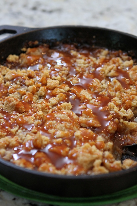 Salted Apple Crumble