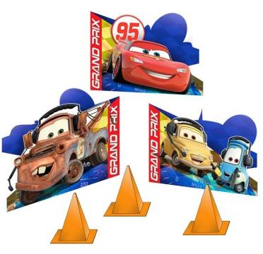 Disney Cars Dream Party Tabletop Decorations