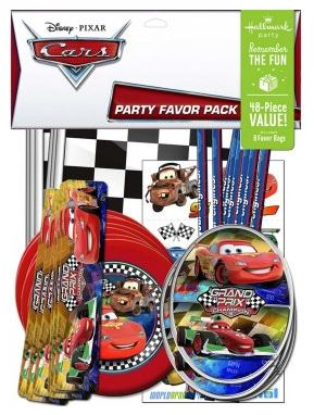 Disney Cars Dream party favors pack