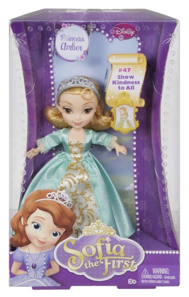 Disney Sofia The First Amber 5-inch Doll 01