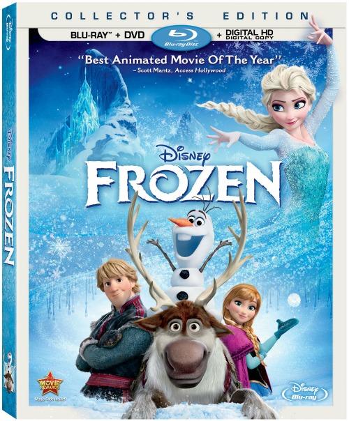 FROZEN Blu-ray Combo Pack