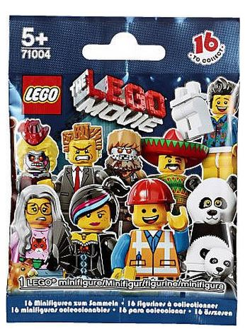 LEGO Minifigures The LEGO Movie Series 71004 Interlocking Set