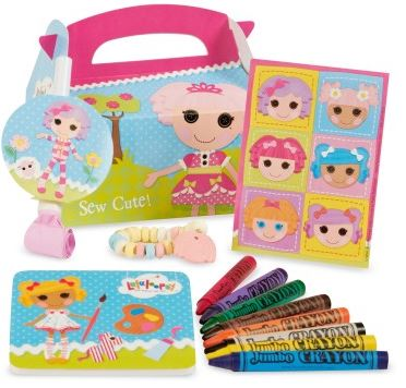 Lalaloopsy 1st Birthday Party Favor Box