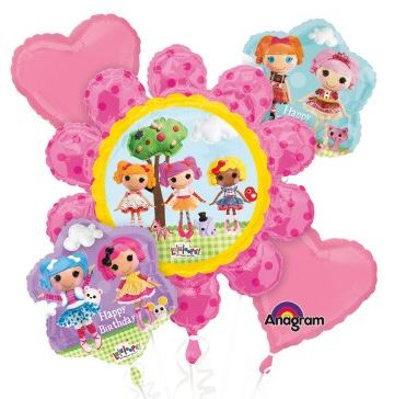 Lalaloopsy Balloon Bouquet