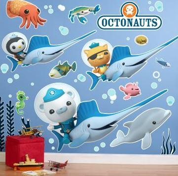 Octonauts Giant Wall Decals