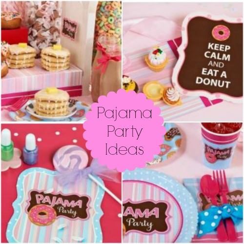 Pajama Party Ideas