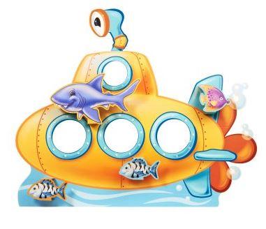 Submarine Standin Octonauts Party Supplies