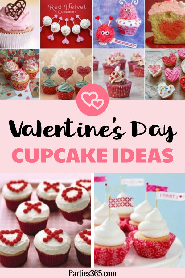 We found 25 beautiful ideas for Valentine's Day cupcakes! You'll find the perfect sweet treat for your Valentine's Day party, classroom party or just for your sweetheart in this delicious looking roundup! #Valentines #ValentinesDay #cupcakes #recipes