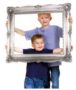 Antique Frame Photo Prop