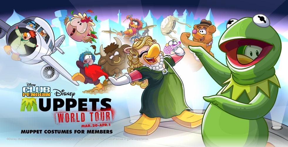 Club Penguin Muppets World Tour
