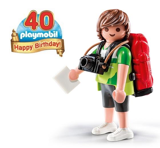 Playmobil 40 years tim the traveler