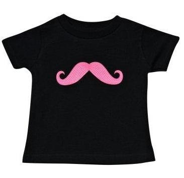 pink mustache t-shirt, mustache party ideas, birthday party ideas for girls, girls birthday party ideas