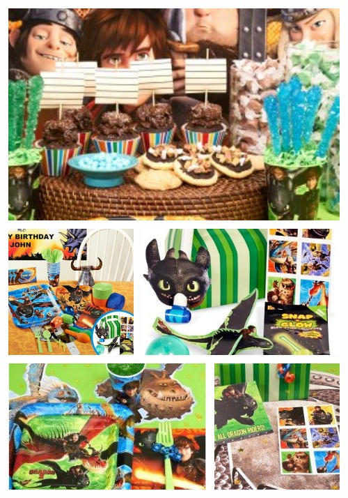 How to Train Your Dragon 2 Birthday Supplies
