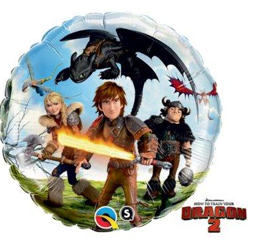 How to Train Your Dragon 2 Foil Balloon, how to train your dragon 2 party supplies