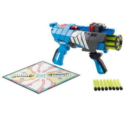 BOOMco. Twisted Spinner Blaster (Blast-Off Edition), blasters, mattel blasters