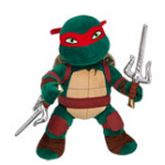 Teenage Mutant Ninja Turtles Build a Bear Raphael